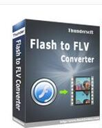 flash转换flv工具(ThunderSoft Flash to FLV Converter) v4.0.0免费版